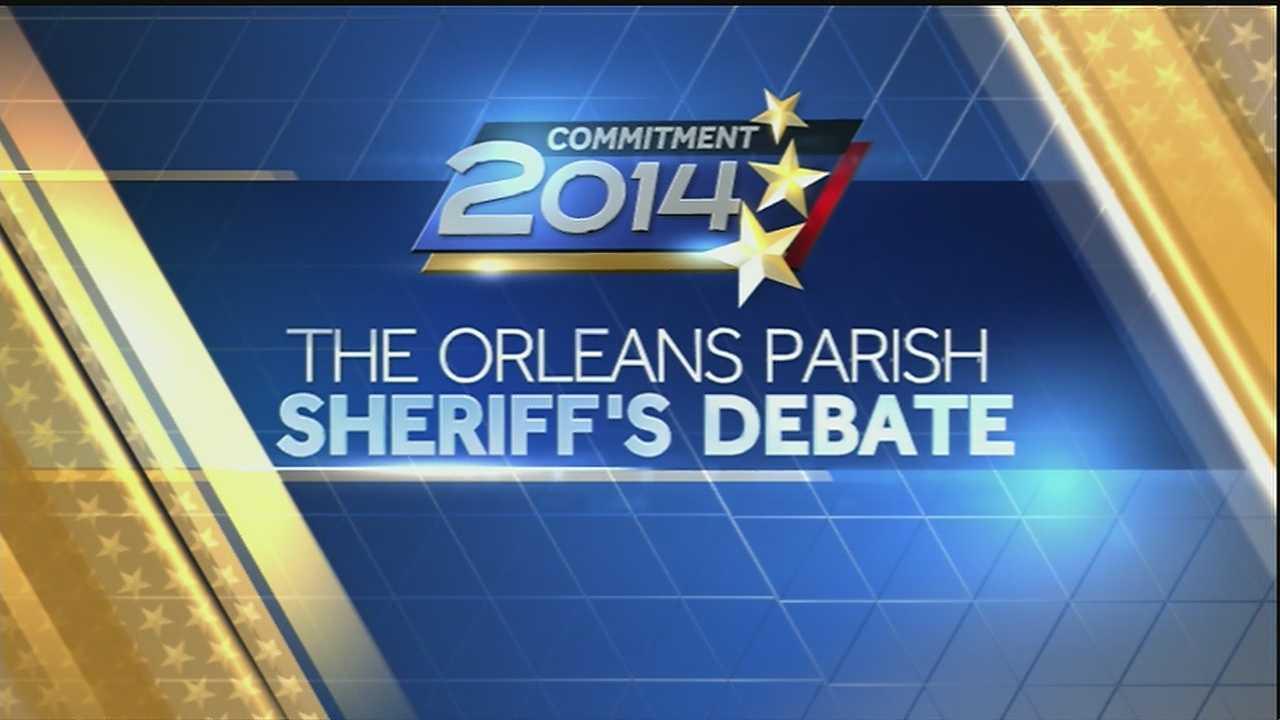 Commitment 2014: Orleans Parish Sheriff's Debate (Part 1)
