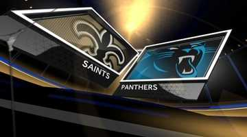 Week 16 – Panthers 17, Saints 13For the second time this season, New Orleans gave up a touchdown pass in the final seconds to lose a hard-fought road game as Cam Newton found Domenik Hixon with 23 ticks left to put Carolina on top.Brees threw two picks for the fourth time in 2013 (all road games), but he still connected with Jimmy Graham for a could-be game-winning score midway through the fourth quarter.Shayne Graham made both of his attempts.New Orleans finished the regular season 3-5 on the road.