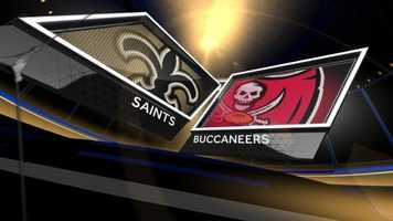 Week 2 – Saints 16, Bucs 14In Week 2, Drew Brees submitted his first of five multi-pick road game performances, but he came through when it counted, getting New Orleans in position for a 27-yard game-winning Garrett Hartley field goal as time expired.Graham set the Saints' single-game record with 179 yards on 10 catches.