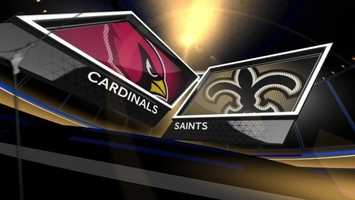 Week 3 – Saints 31, Cardinals 7The trend of smashing opponents in the Mercedes-Benz Superdome got started here as the Saints scored 31 unanswered and crushed a Cardinals team that turned out to be pretty good with 10 wins.Drew Brees threw four touchdowns, including two to Jimmy Graham.LSU product Tyrann Mathieu made his first-career interception, but it wasn't nearly enough as New Orleans improved to 3-0.