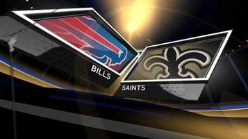 Week 8 – Saints 35, Bills 17With a bye week to stew over losing their first game of the season, the Saints overcame a slow start and crushed Buffalo 35-17.Drew Brees threw all five of New Orleans' touchdowns, two each going to Kenny Stills and Jimmy Graham. Lance Moore caught the other.The Saints committed eight penalties, and Garrett Hartley's two missed field goals were the beginning of the end of him in black and gold.
