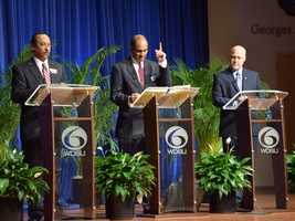 The mayoral candidates appeared at Georges Auditorium at Dillard University for the Commitment 2014 mayoral debate.