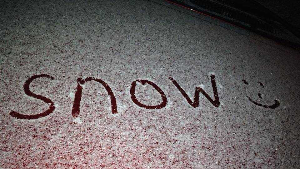 Poplarville Snow