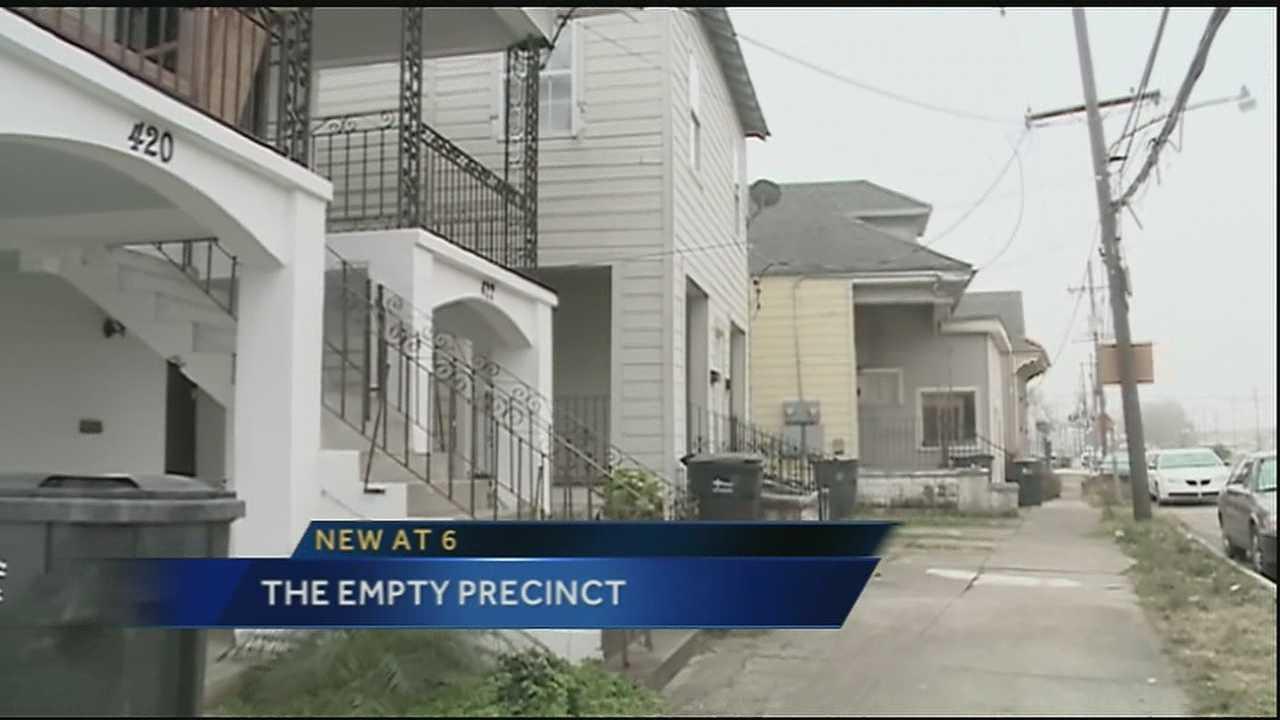Orleans Parish precinct devoid of actual voters