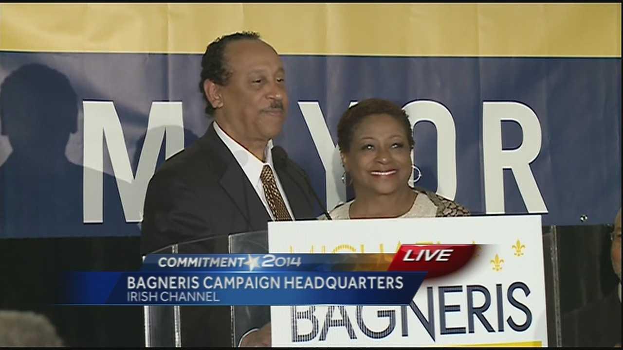 Bagneris delivers concession speech