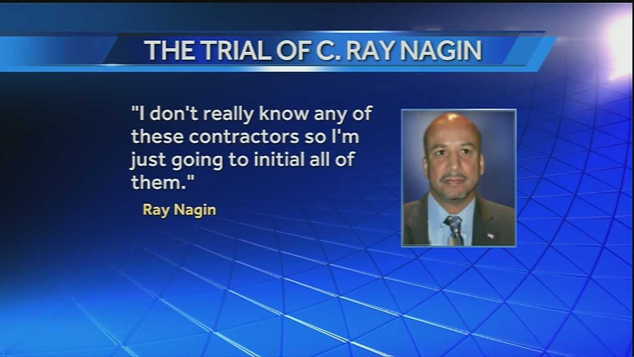 Gripping day of testimony from Nagin in corruption trial