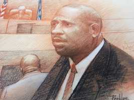 "Friday. Jan. 31(Sketch by Carol Peebles)On the witness stand, corrupt City Hall contractor Rodney Williams admitted to bribing former New Orleans Mayor Ray Nagin in exchange for securing high-dollar no-bid contracts.Williams was cool and collected on the stand.Defense lawyer Robert Jenkins tore at Williams' credibility and tried to paint him as a desperate liar.Before Williams left the stand, prosecutor Matt Coman asked Williams, ""If you didn't bribe the mayor, would you be sitting here right now?""""No,"" Williams replied.Coman then asked, ""Did you take care of the mayor and did he take care of you?""""Yes,"" Williams said.Williams lawyer told WDSU as they left that his client had no reason to lie about the bribes Williams said he gave Nagin."