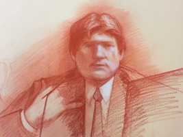 "Friday, Jan. 31(Sketch by Carol Peebles)Also on the stand Friday was Nagin's former top aide at city hall, Greg Meffert -- the city's former chief technology officer.Meffert testified as part of a plea agreement.The former technology chief for the city of New Orleans said Nagin took expensive vacations to Hawaii and Jamaica paid for by a major city vendor, Mark St. Pierre, who also helped funnel illegal contributions to Nagin's 2006 re-election campaign.Meffert laid out an elaborate scheme at city hall to steer contracts to Nagin's allies in exchange for travel and favors.Meffert didn't say anything as he left court.On the stand, prosecutors showed jurors an email sent from Nagin to Meffert, which he called Meffert his ""undercover brother"" after Meffert arranged a questionable trip to Chicago for both men.He told jurors that businessman Frank Fradella arranged a 2007 flight to Chicago for an NFL playoff game, during which Fradella and an associate discussed doing business with Nagin's family.Meffert also admitted on the stand that after being questioned by the FBI twice in 2009, he suspected the investigators were onto his scheme, so he said he called Nagin and the two discussed a ""cover story.""   St. Pierre has been convicted in the case, while Fradella has pleaded guilty."