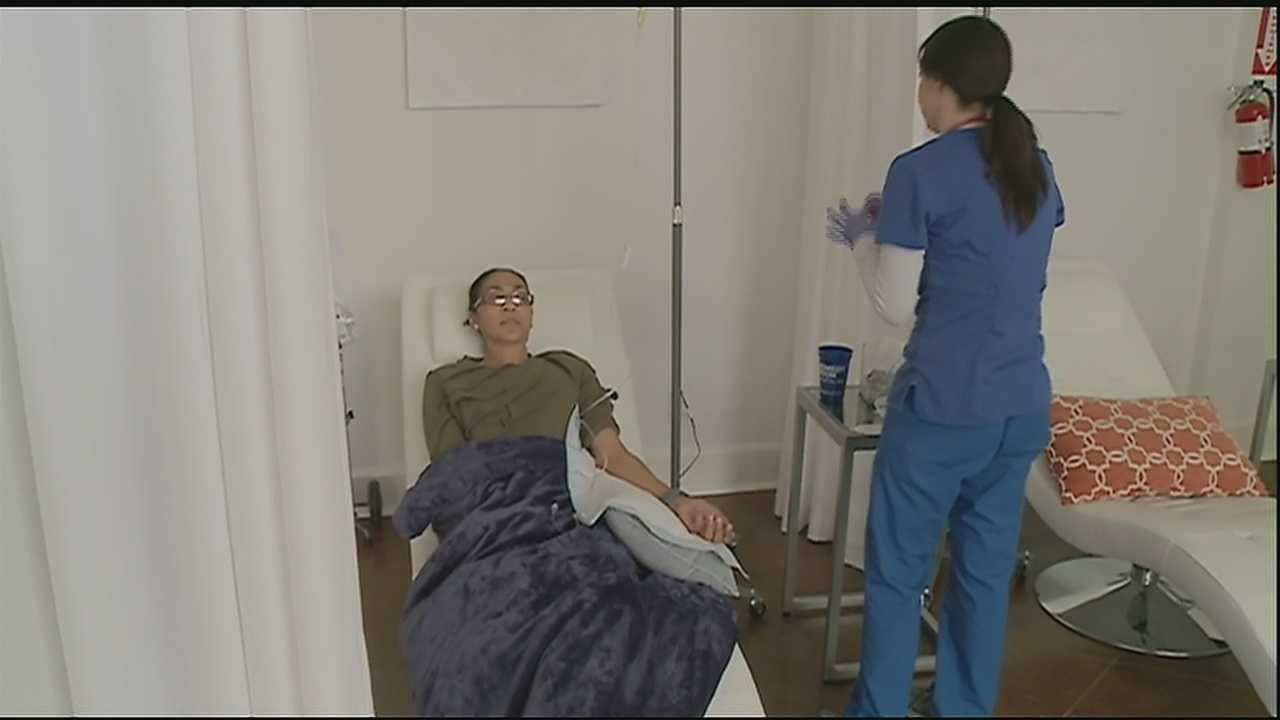 Remedy Room offers treatments for hangovers