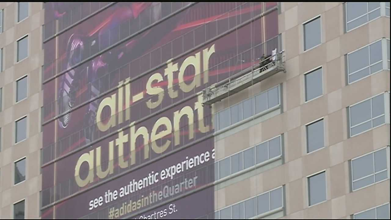 Some of the highest paid athletes in all of sports are on their way to the Crescent City for the 2014 NBA All-Star game and 50,000 of their high-paying fans are coming too.