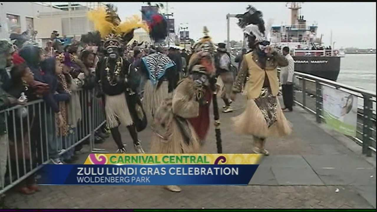 Zulu's Lundi Gras Celebration