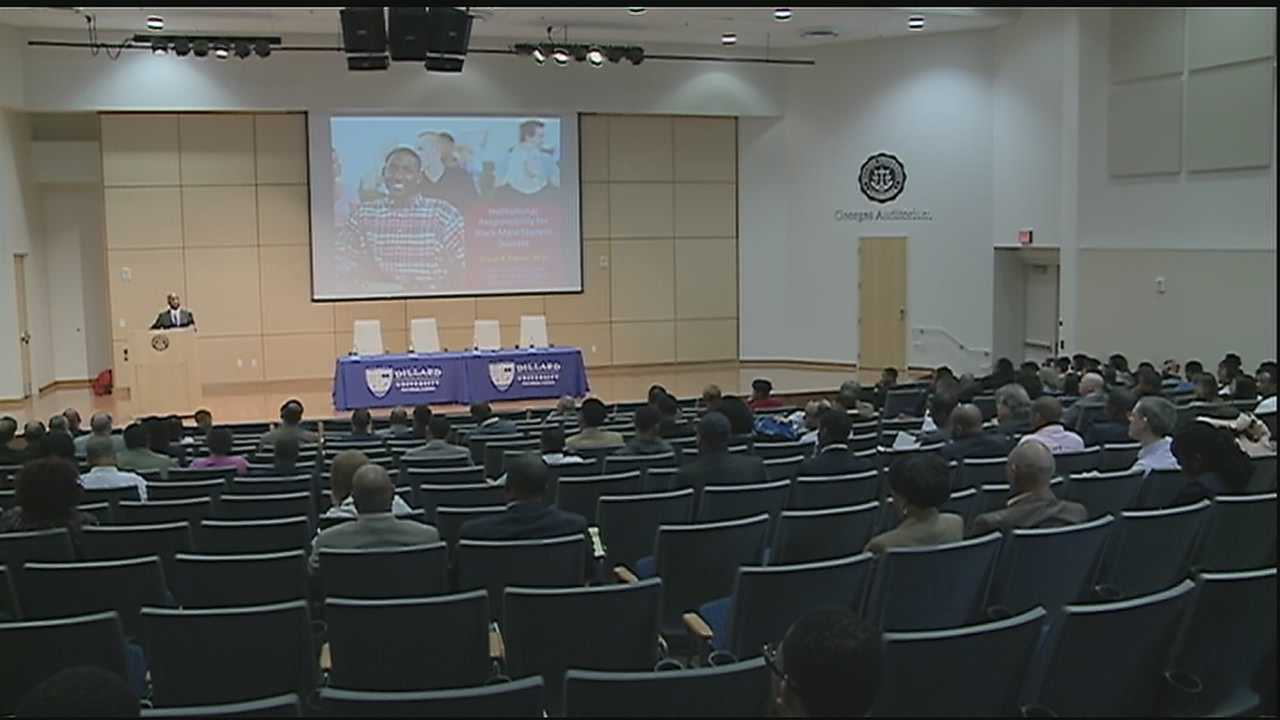 Dillard summit aims to get black men to commit to higher education