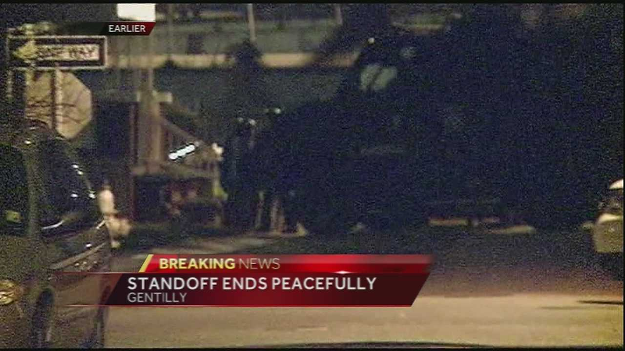 Hostage situation ends peacefully
