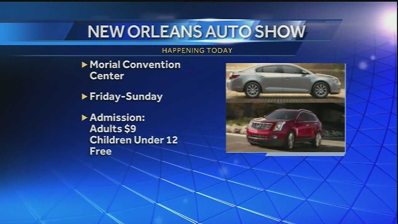 The big auto show is happening in the Crescent City this weekend. Here's a preview of the new technology being featured in some upcoming General Motors models.