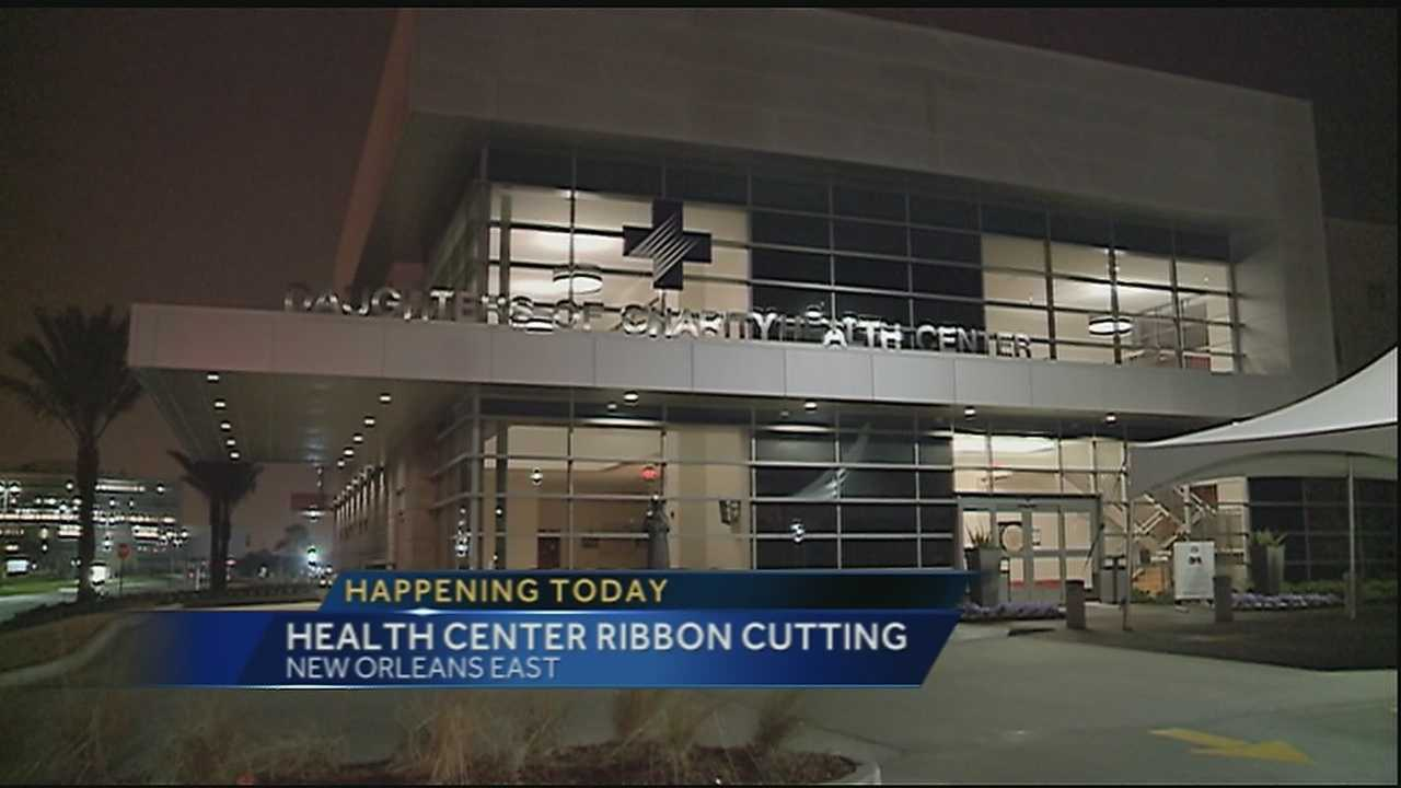 Daughters of Charity Health Center ribbon cutting