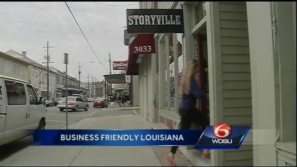 (img1)Louisiana ranks as one of the top business friendly states