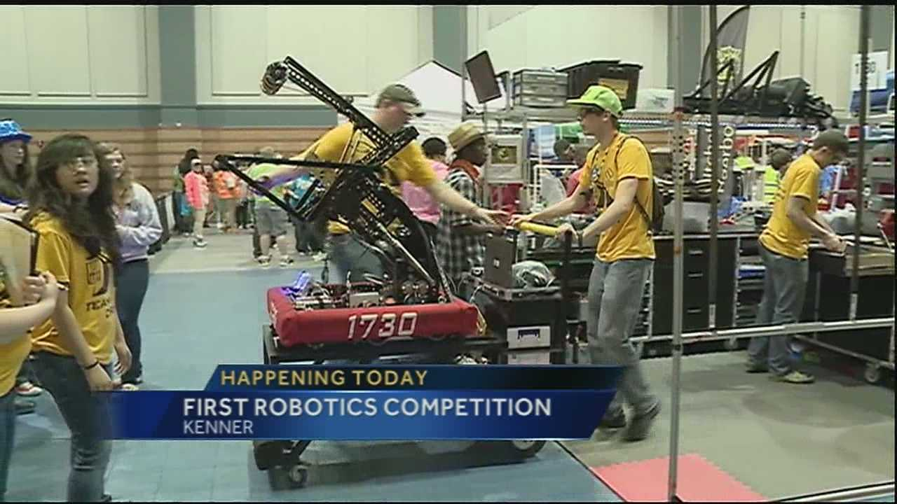 First robotic competition gets underway Friday
