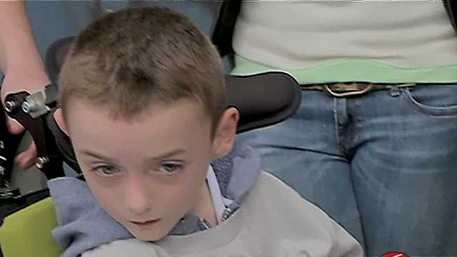 Disabled boy's WWE dream tarnished by thief