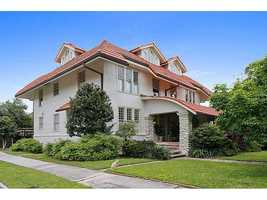 This home was designed by famous architect Jordan McKenzie in 1910. Exquisite entrance renovated by Davis Jancke in 2013. The home at 5829 Hurst Street is priced at $1,485,000. Contact Gardner Realtors for more information - info@gardnerrealtors.com or by phone: 800-566-7801.