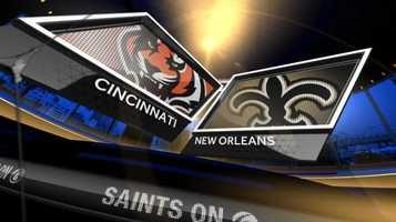 Nov. 16: Cincinnati At New Orleans (noon)
