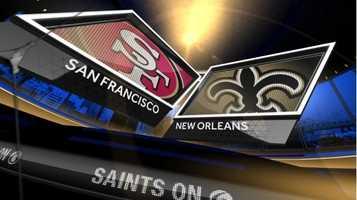 Nov. 9: San Francisco At New Orleans (noon)