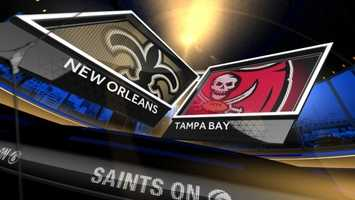 Dec. 28: New Orleans At Tampa Bay (noon)