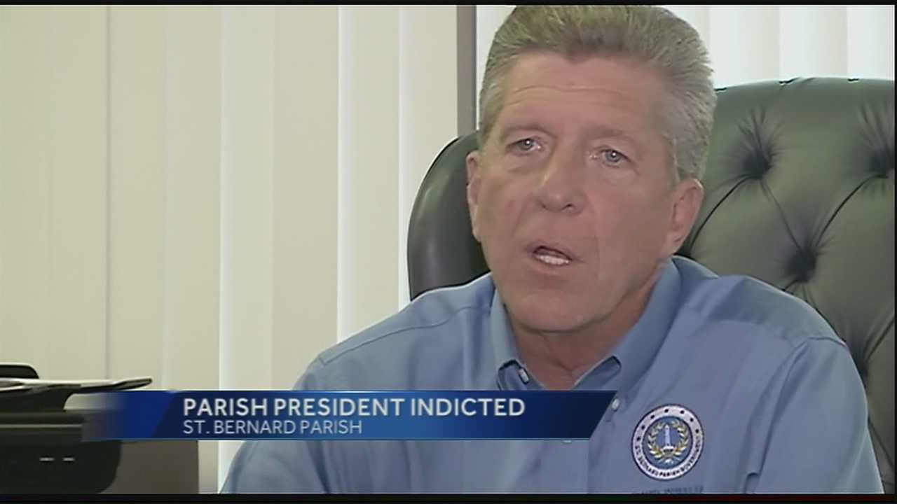 St. Bernard Parish president indicted on sexual battery charge