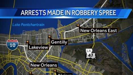 Lakeview robbery arrests