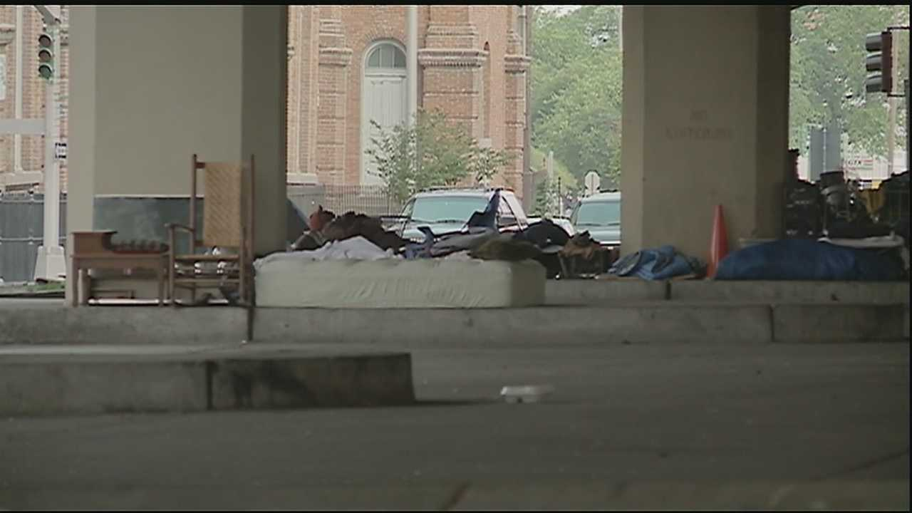 A New Orleans man is getting more than he bargained for after deciding to get a closer look at homelessness in the city.