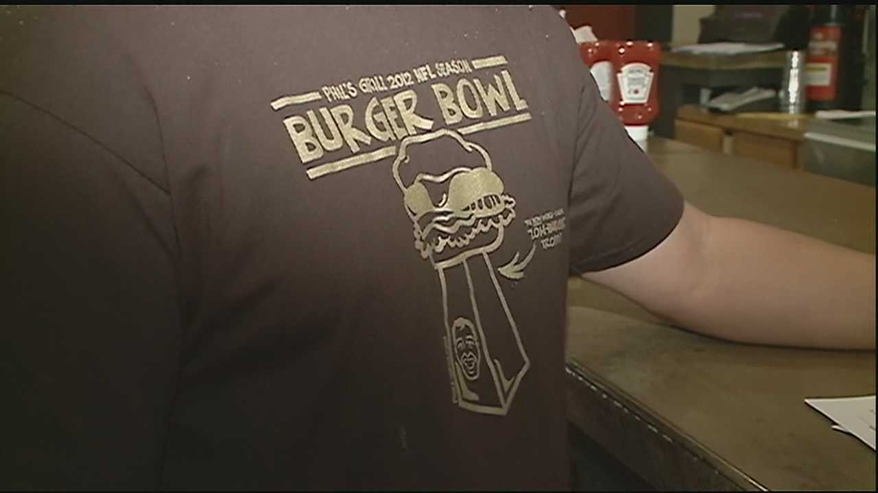 Phil's Grill hosts several events for to raise money for local charities, but the NFL says one fundraiser goes out of bounds.