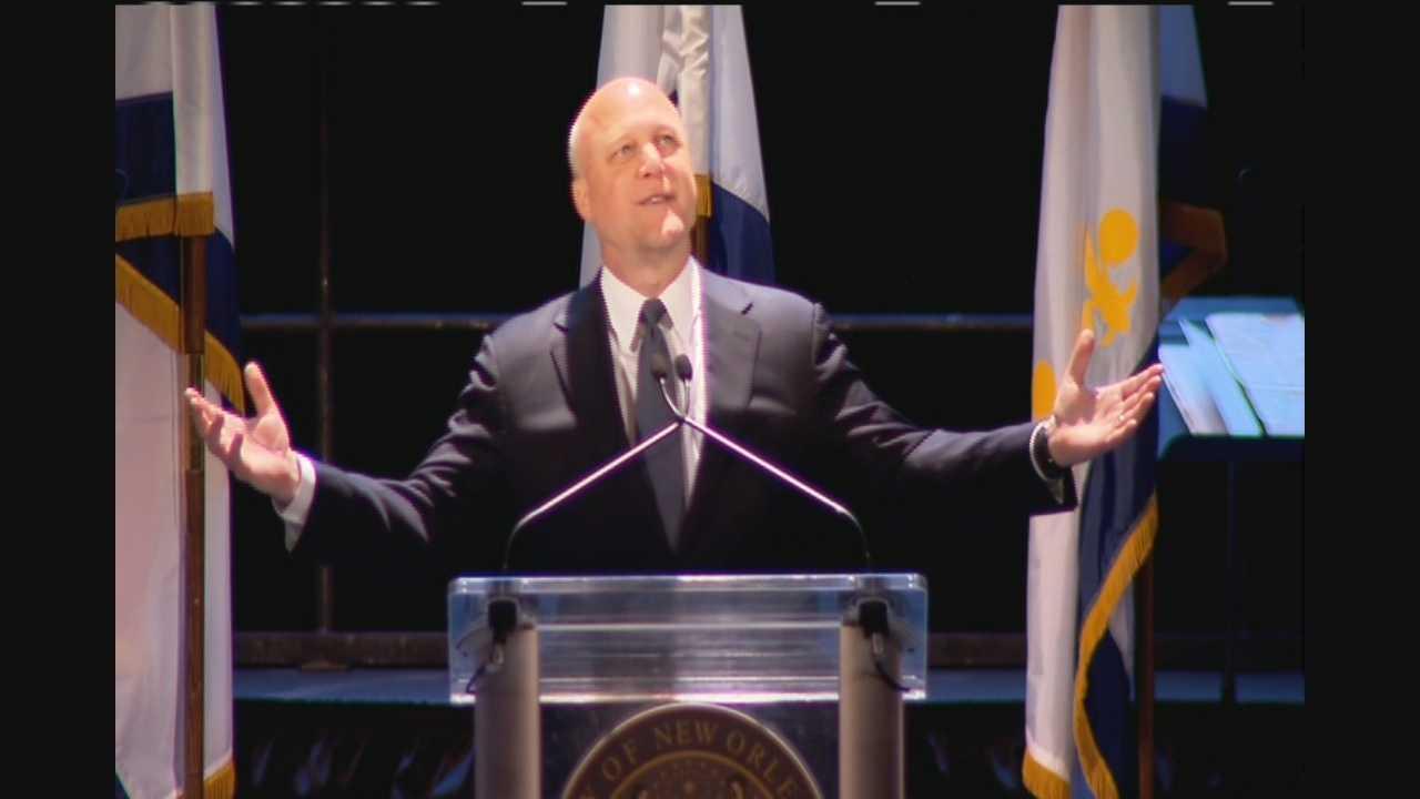 Mayor Landrieu inauguration