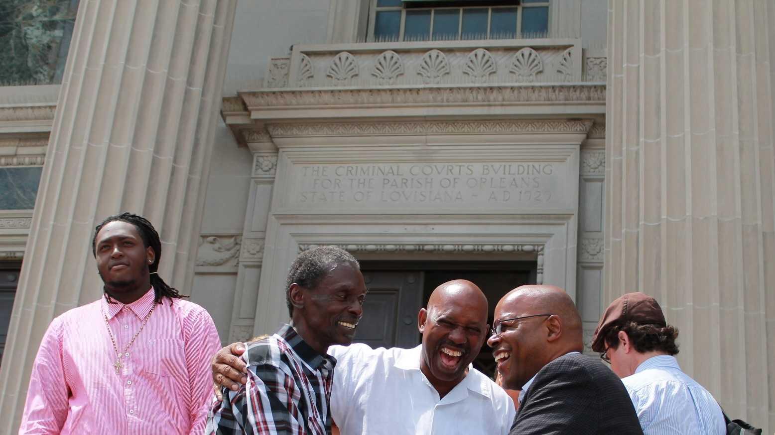 Reginald Adams released after 34 years