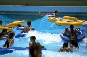 Bayou Segnette State Park in Westwego features an awesome wave pool. Admission is $10 for adults and $8 for children.