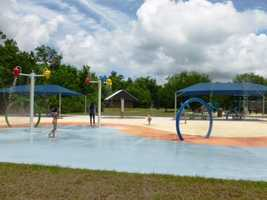 St. Bernard State Park -- located between Caernarvon and Braithwaite -- features a water playground and swimming pool among its recreational amenities.