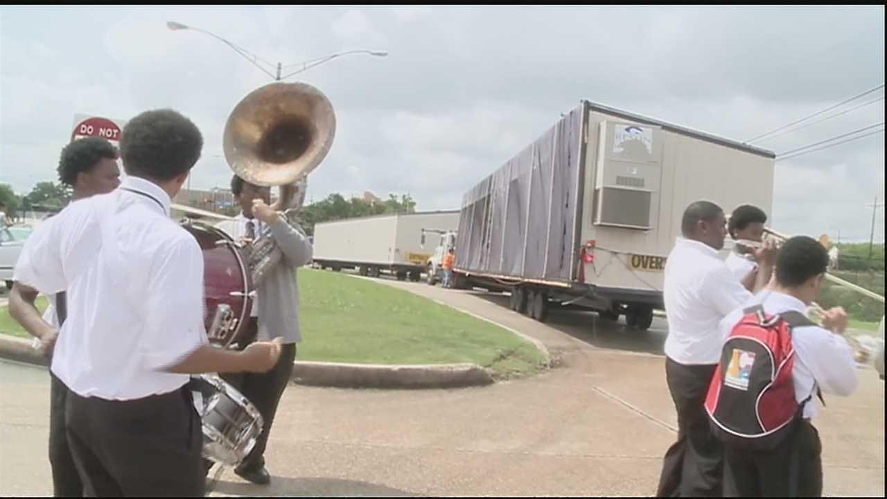 SUNO celebrates farewell to last of FEMA trailers