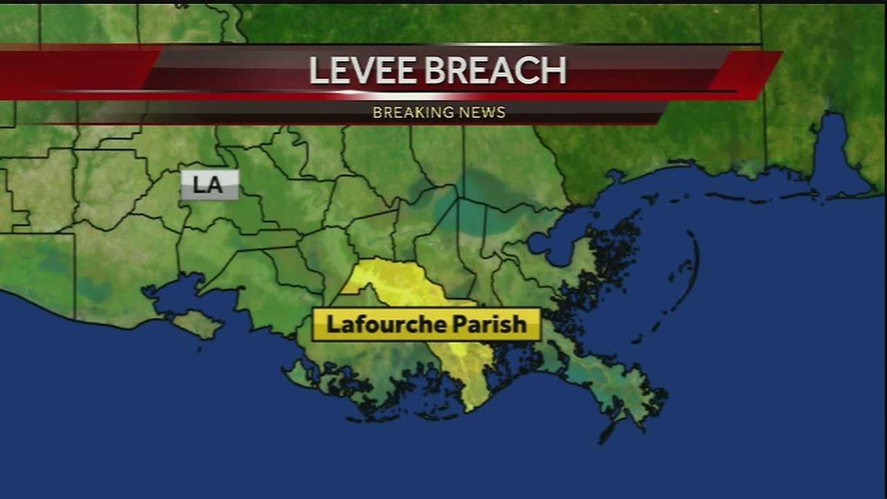 Lafourche Parish President discusses levee breach