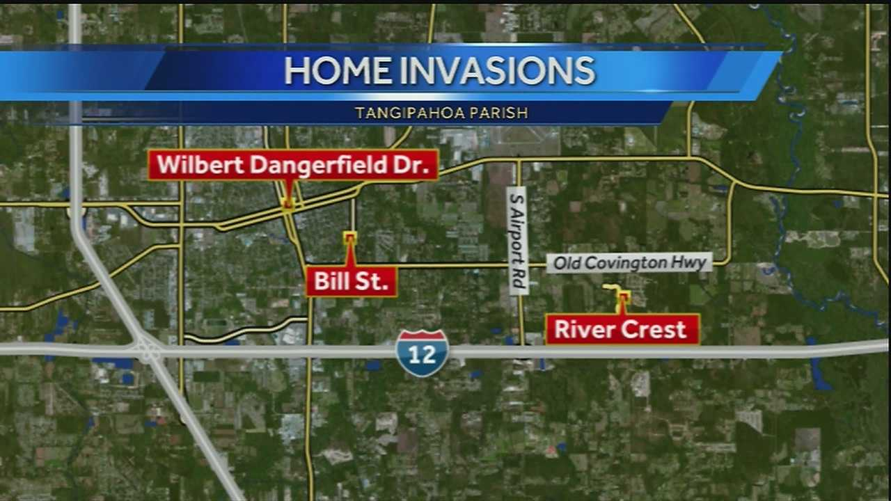Residents on the Northshore say there have been at least three home invasion-type crimes since Friday -- one of which ended with the homeowner killed.
