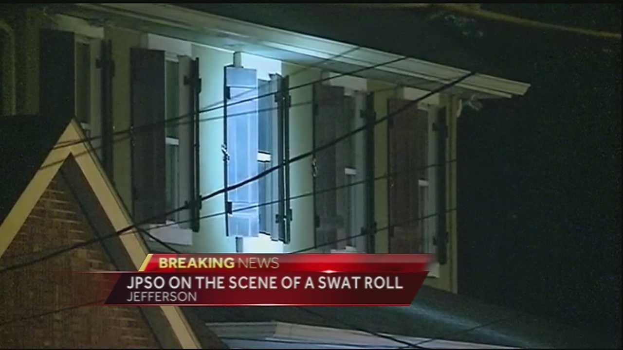 JPSO performs SWAT roll in Jefferson