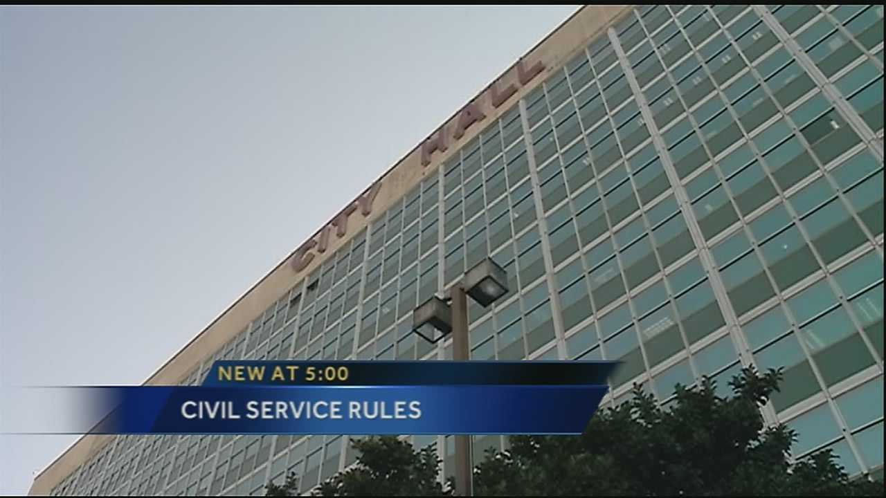 Civil Service changes draws criticsm