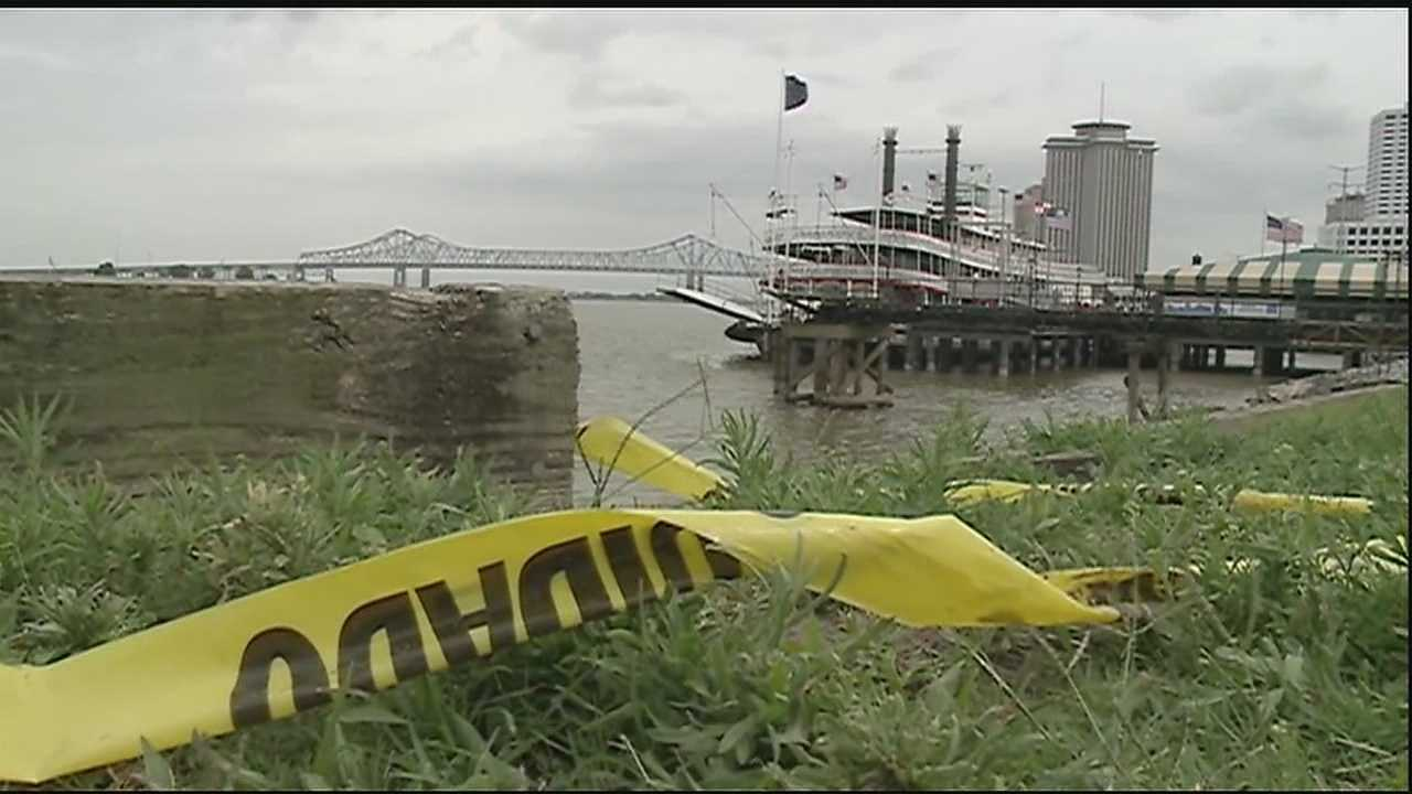 New Orleans and Harbor Police pulled the body of an unidentified man out of the Mississippi River near the Governor Nicholls Street Wharf Sunday.