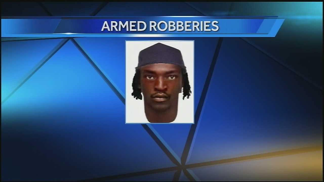 Police search for suspect in serial armed robberies in the Marigny