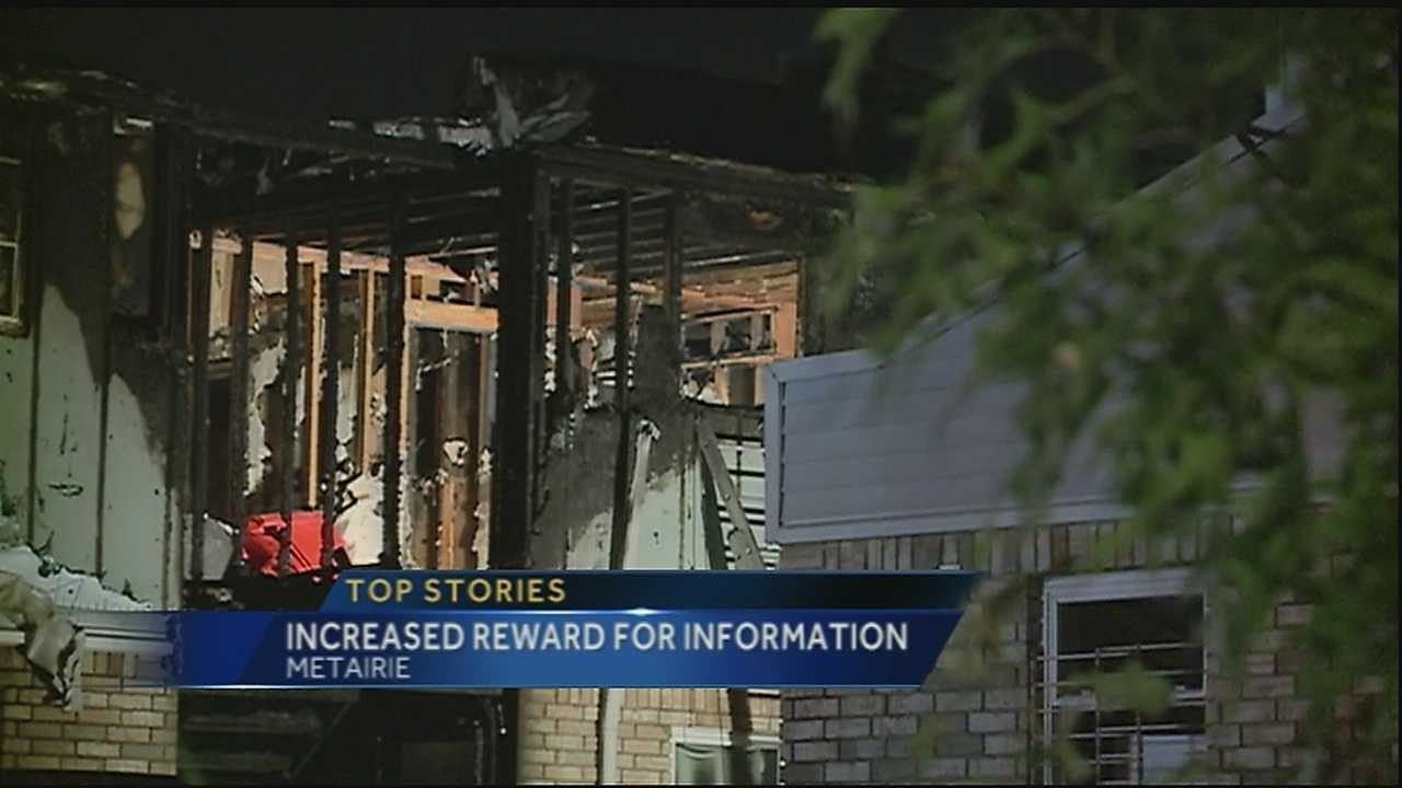 Crimestoppers increases reward for information in Metairie arson