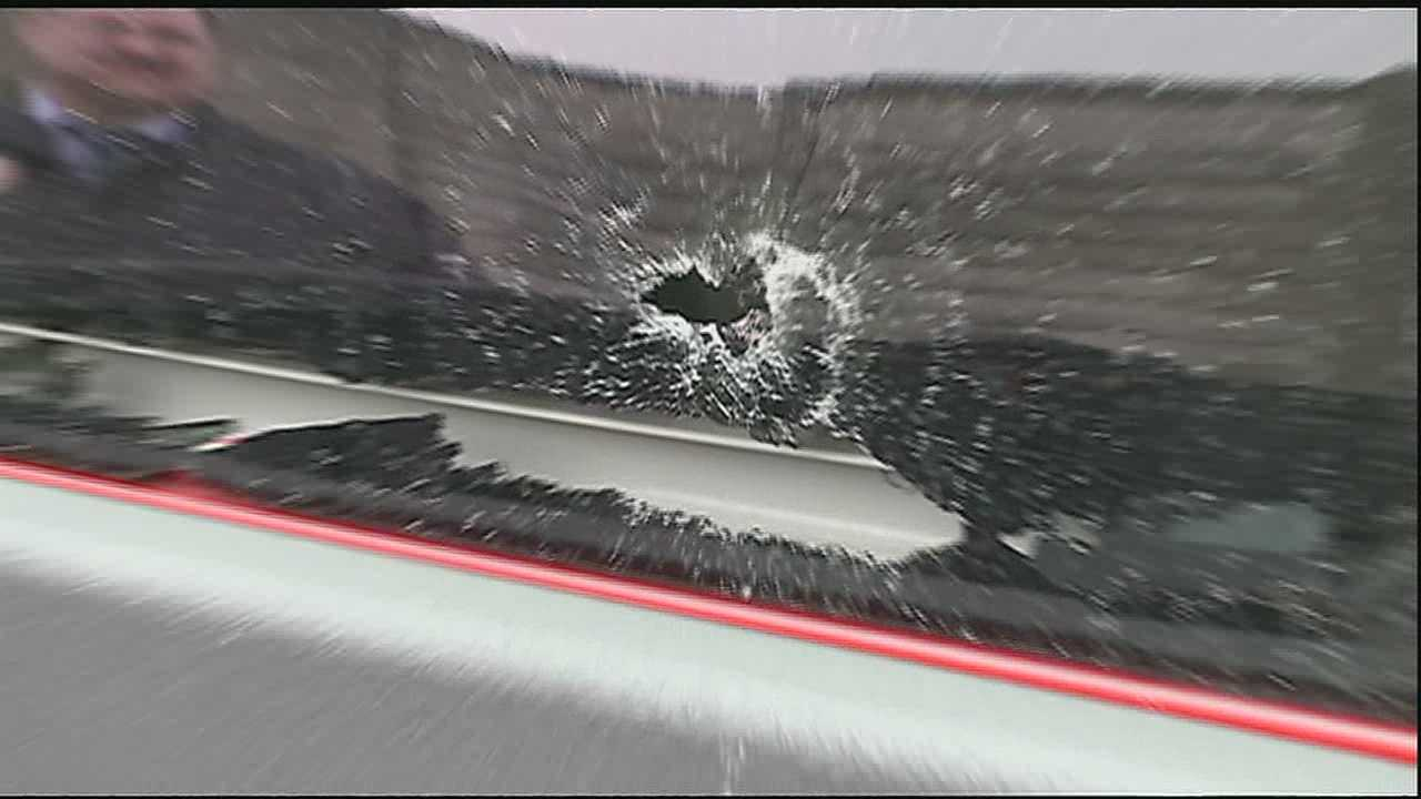 10-year-old hospitalized after being shot at in road rage incident