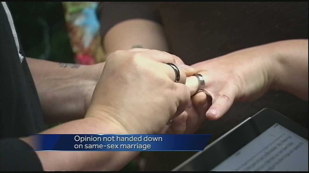 Judge foresees multi-faceted same-sex marriage ruling
