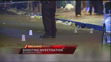 Nine people were injured in the shooting, police said.
