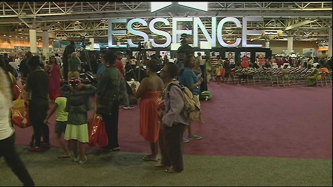 The NOPD teams up with Louisiana State Police for Essence Fest