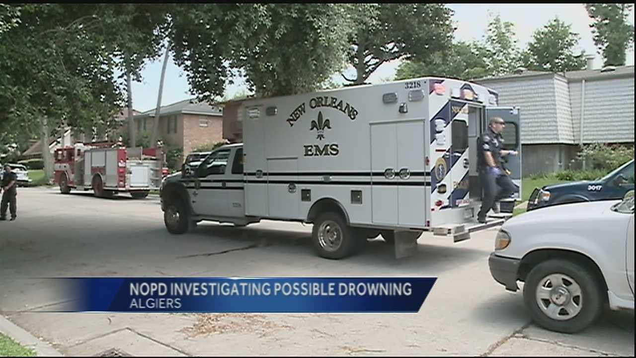 Possible drowning of toddler in Algiers reported to police