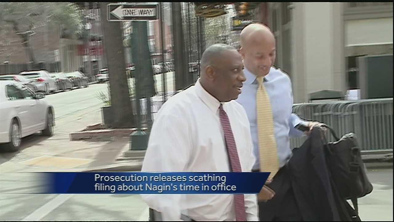Prosecution releases scathing report regarding Nagin's sentencing