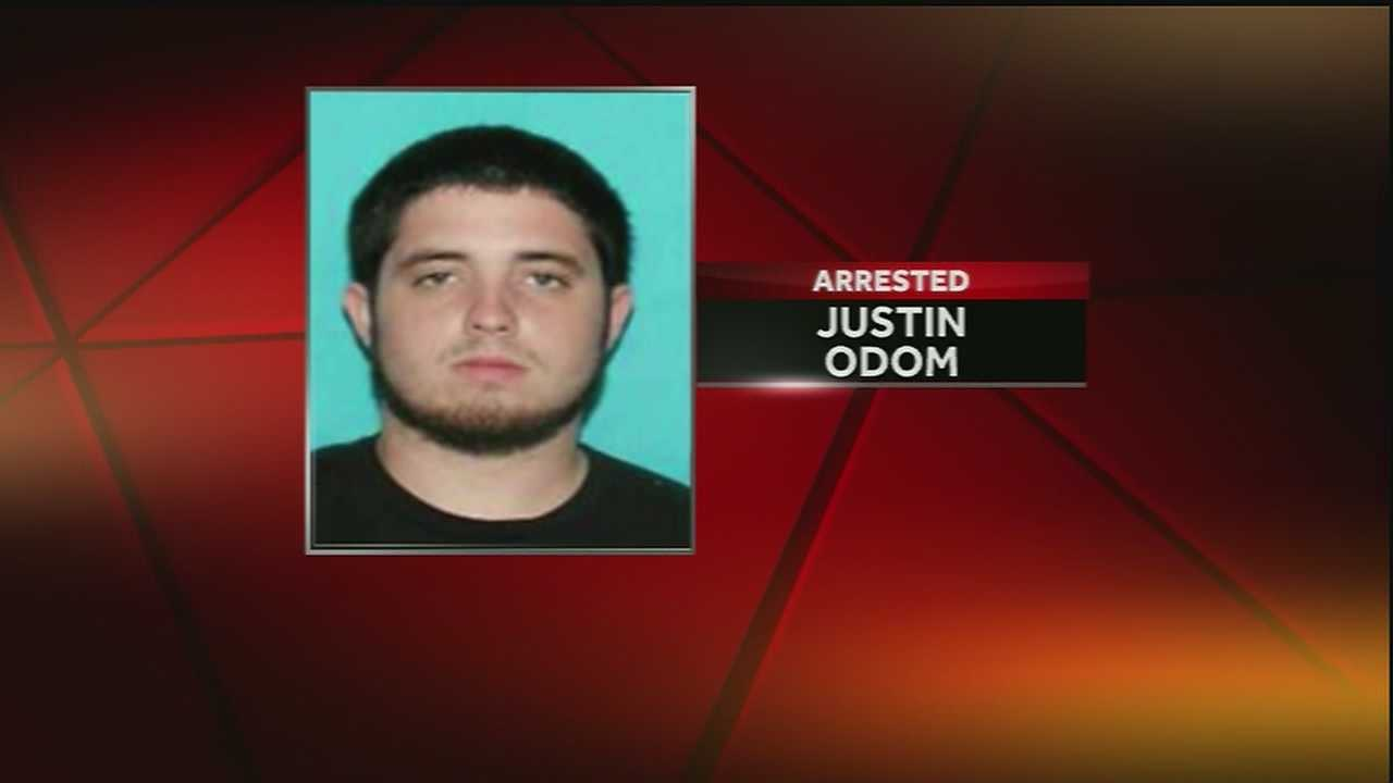 Justin Odom, the person of interest sought in connection with the mass shooting on Bourbon Street on Sunday morning, turned himself in to Gretna police Wednesday afternoon.