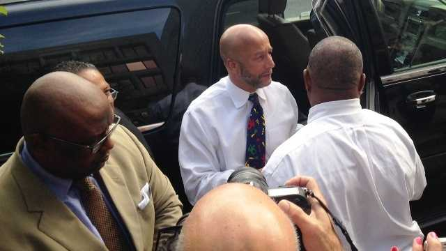 Nagin arrives for sentencing